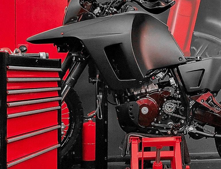 האמנות שבאופנוע - קורס טכנאות מעשית למקצוענים בלבד!
